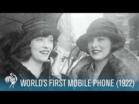 World's First Mobile Phone (1922)
