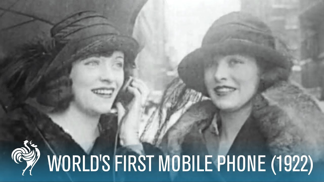 World's First Mobile Phone (1922) - YouTube