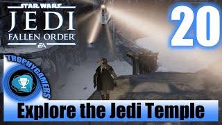 Jedi Fallen Order - Explore the Jedi Temple - Crystal Light puzzle - Walkthrough Part 20