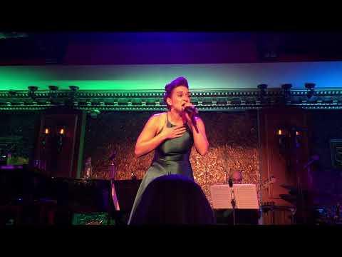 Jessica Vosk at 54 Below singing