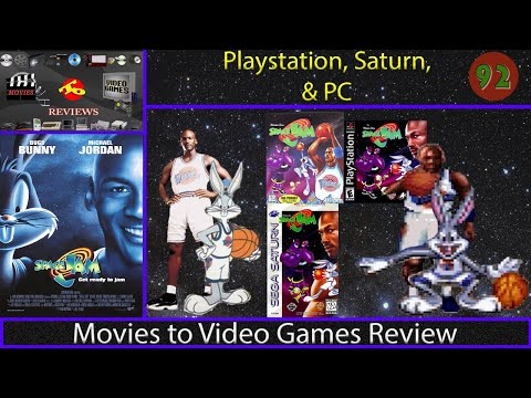 Movies to Video Games Review - Space Jam (PS1, Saturn, DOS)