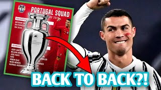 Portugal to WIN Back TO Back Euros?! | Portugal Euro 2021 Squad Reaction