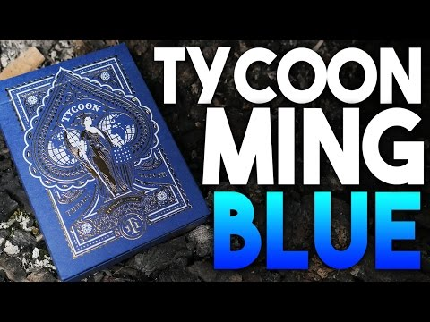 Deck Review - Tycoon Ming Blue Playing Cards [HD-4K]