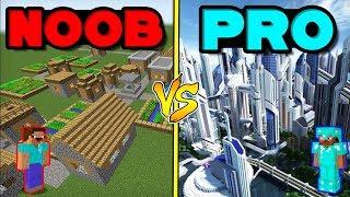 Minecraft Battle: NOOB vs PRO: VILLAGE in Minecraft!