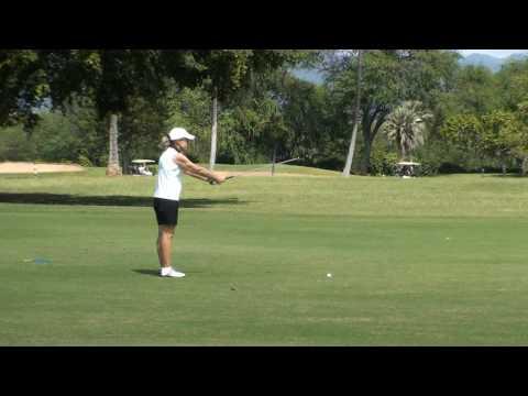 Golfing at Mamala Bay, Hickam Air Force Base, Hawaii