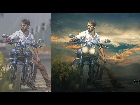 Photoshop Compositing Tutorial | Remove Background With Hard Light