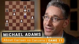 World Chess Championship 2018 Game 11 | Crystal Clear Insights by Michael Adams