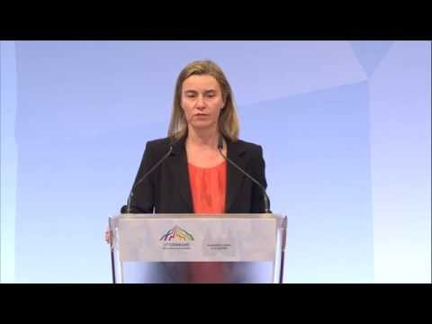 Federica Mogherini G7 Foreign Ministers