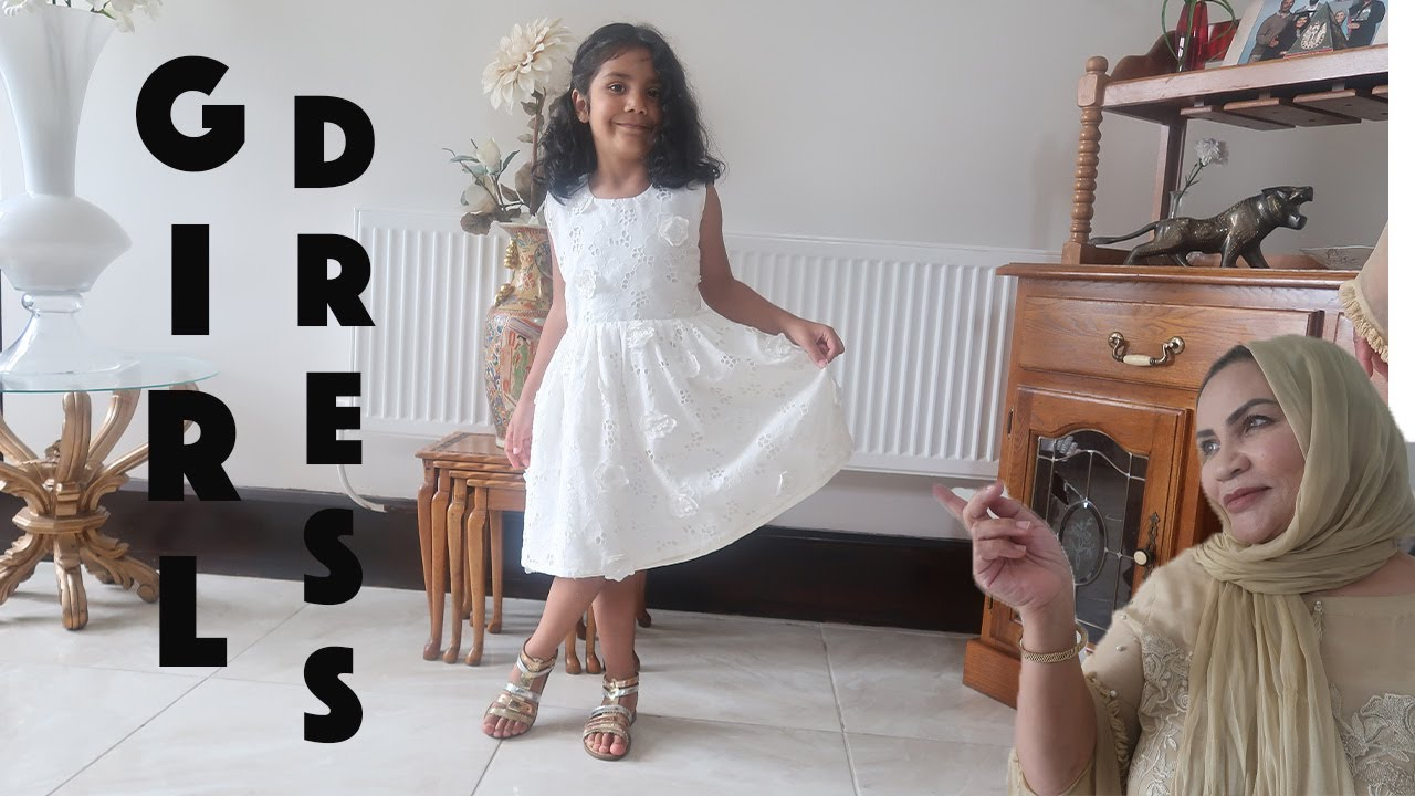 VERY EASY FROCK FOR YOUNG GIRL - YOUNG GIRL DRESS //