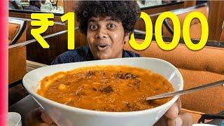 1000 rupees Kaara Kuzhambu at Leela - 5 Star Hotel Food Review