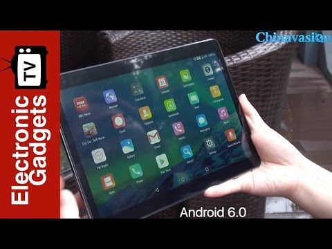 9.6 Inch HD 3G Android Tablet PC Review - Android 6.0 and 4500mAh