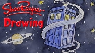 How to draw Doctor Who