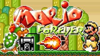Mario Forever: SMW Edition (2021) / Complete Playthrough / All Secrets revealed / SMW ROM Hack