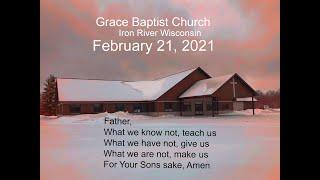 Grace Baptist Church Iron River Wi Feb 21 2021