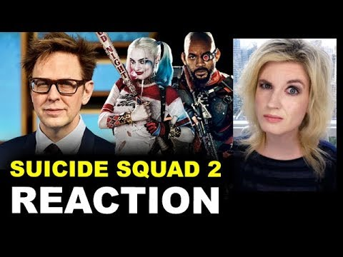 James Gunn Suicide Squad 2 REACTION