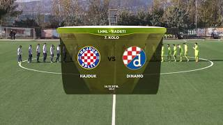 HAJDUK vs DINAMO 0:0 (7. kolo, Prva HNL - Kadeti 19/20)