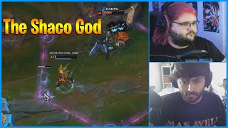 Pink Ward Back to Playing Shaco...Twitch Rivals Day1...LoL Daily Moments Ep 1137