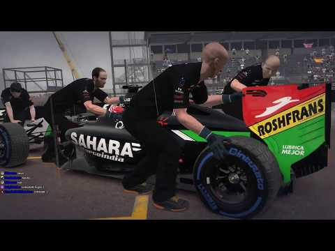 F1 2014 multi WET 100% in Monaco TheGamers Cup Gála futam onboard ]HG[Vilmos]HU[ (HUN/HD)