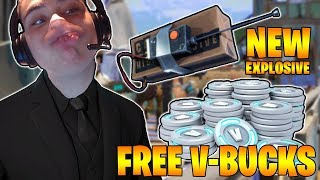 *NEW C4 UPDATE!* | FASTEST CONSOLE BUILDER! | FREE V BUCKS | 220 Wins | Fortnite: Battle Royale 🔴