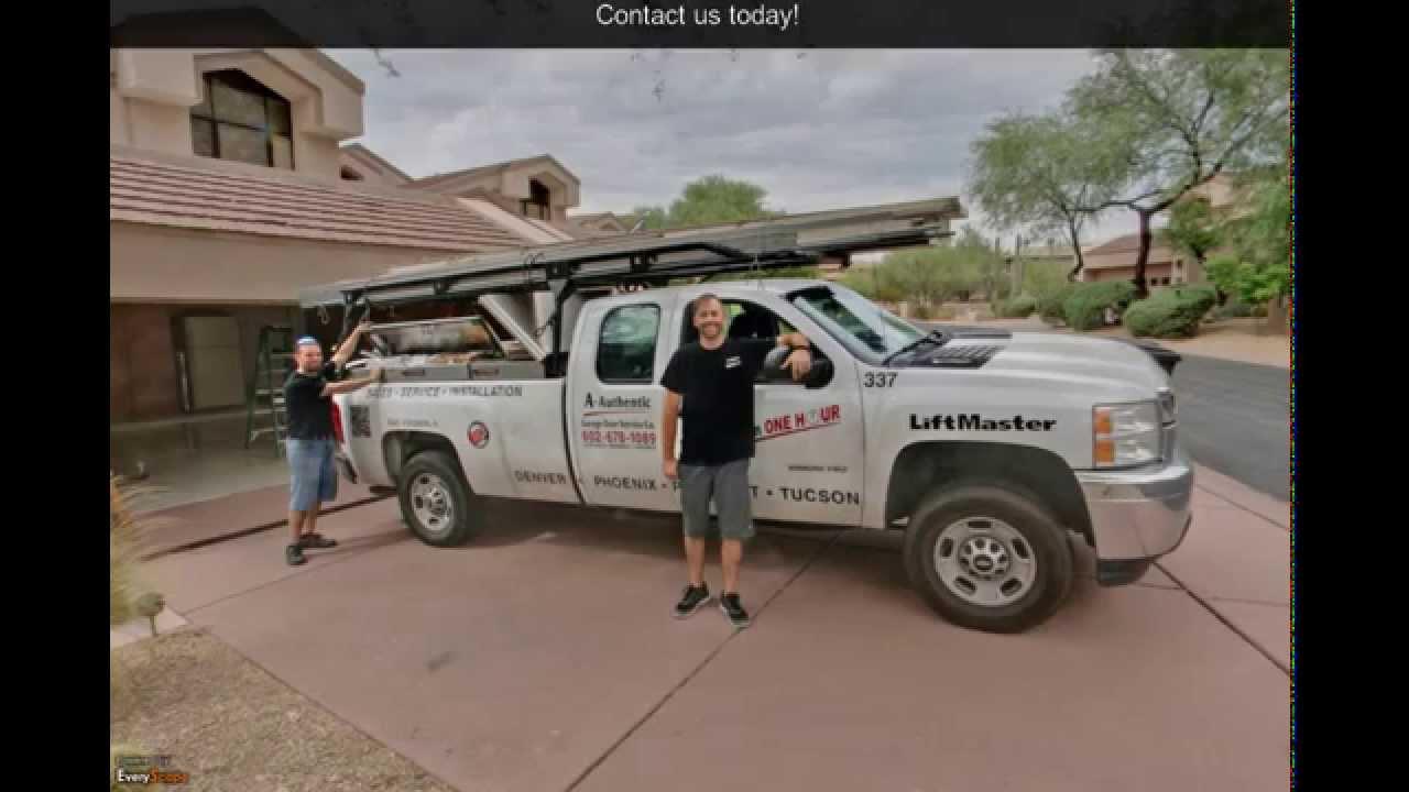 A Authentic Garage | Phoenix, AZ | Garage Doors - YouTube