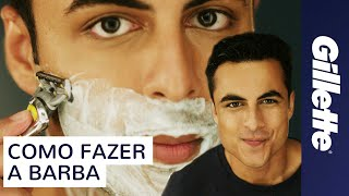 Como Fazer a Barba | Gillette Fusion ProShield