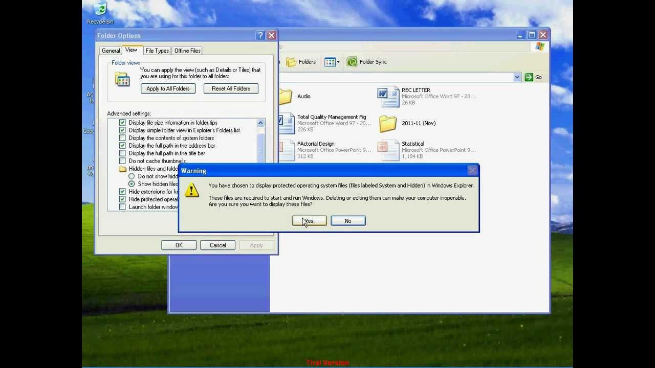 Cách Ẩn Và Hiển Thị Các Thư Mục Ẩn Trong Windows - AN PHÁT