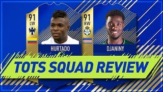 FIFA 18 TOTS Djaniny & TOTS Hurtado - FIFA 18 Team of the Season Squad and Player Review!
