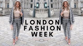 LONDON FASHION WEEK | Lucy Jessica Carter