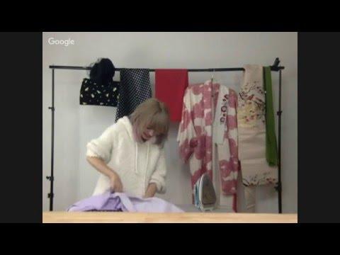 【生放送】2年ぶりのライブソーイング★着物用のストールをつくるよ! Live Sewing! Making a Scarf for Kimono
