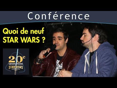 Quoi de neuf Star Wars ? Conférence SWU