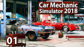 Auto Werkstatt Simulator 2018 ► CAR MECHANIC Gameplay #1 deutsch german