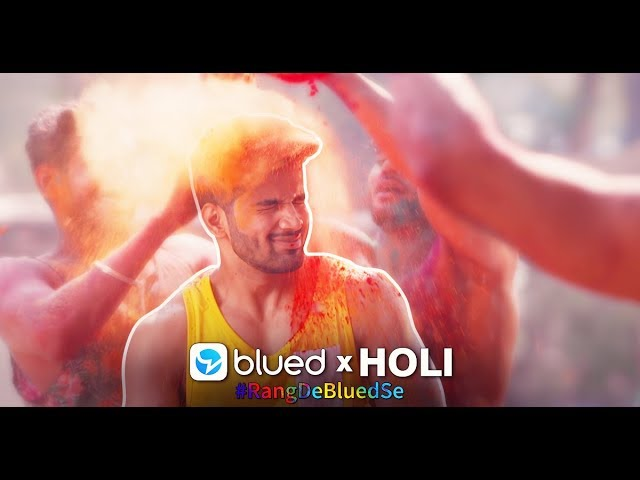Blued x Holi Music Video Trailer 2