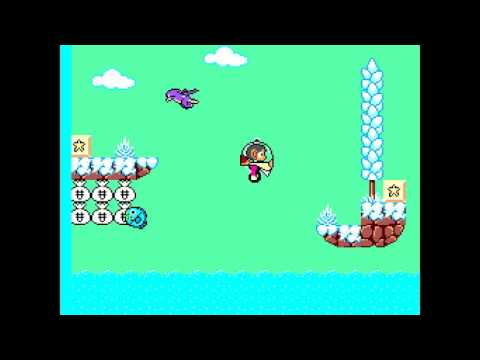 Alex Kidd 2 Curse in Miracle World Demo2 Part2 SEGA Master System Hack