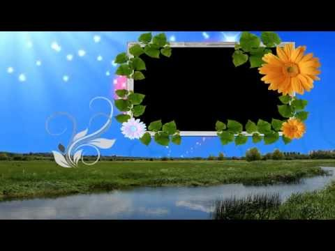 HD Free Background Animated Photo Frame Video Downloads