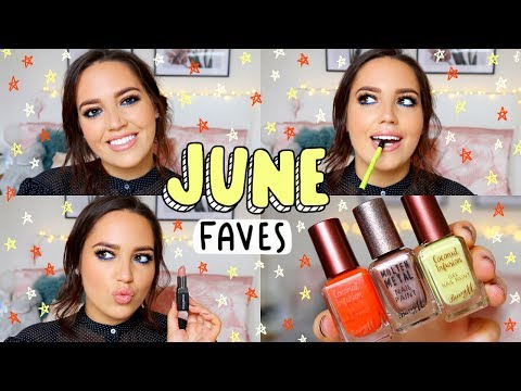JUNE FAVOURITES 2017! 💕 Makeup, TV, Music + More..