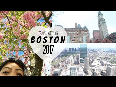 Travel Diary: BOSTON, MASSACHUSETTS✨🇺🇸🌃 (West Coast to the East Coast!)