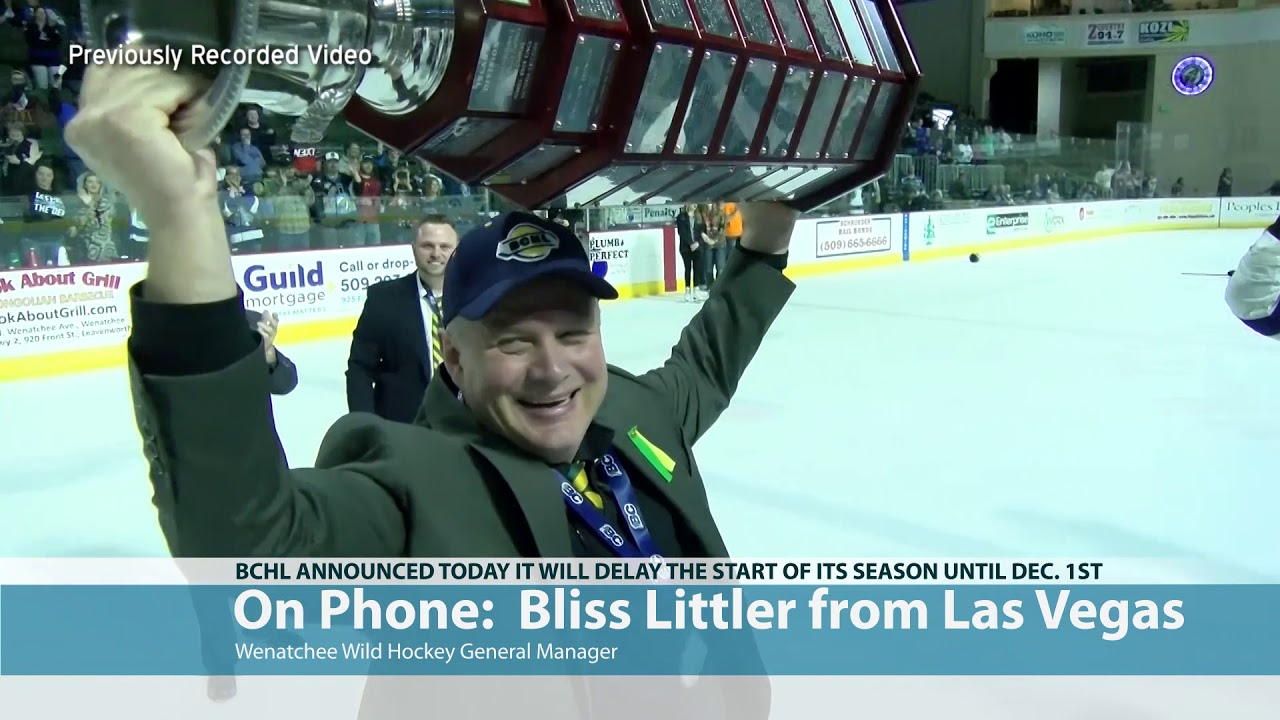 Bliss Littler on BCHL Decision to Delay Season 2020-07-17