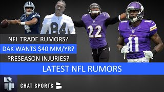 Nfl rumors: laquon treadwell & jimmy smith trade rumors? preseason injury updates