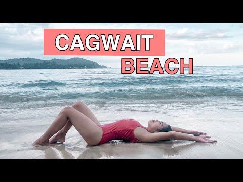 Beachin With Husbae At Cagwait White Beach Resort By Milgs Tanza