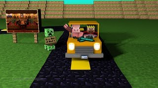 How to make a moving car in minecraft ( No Mods )