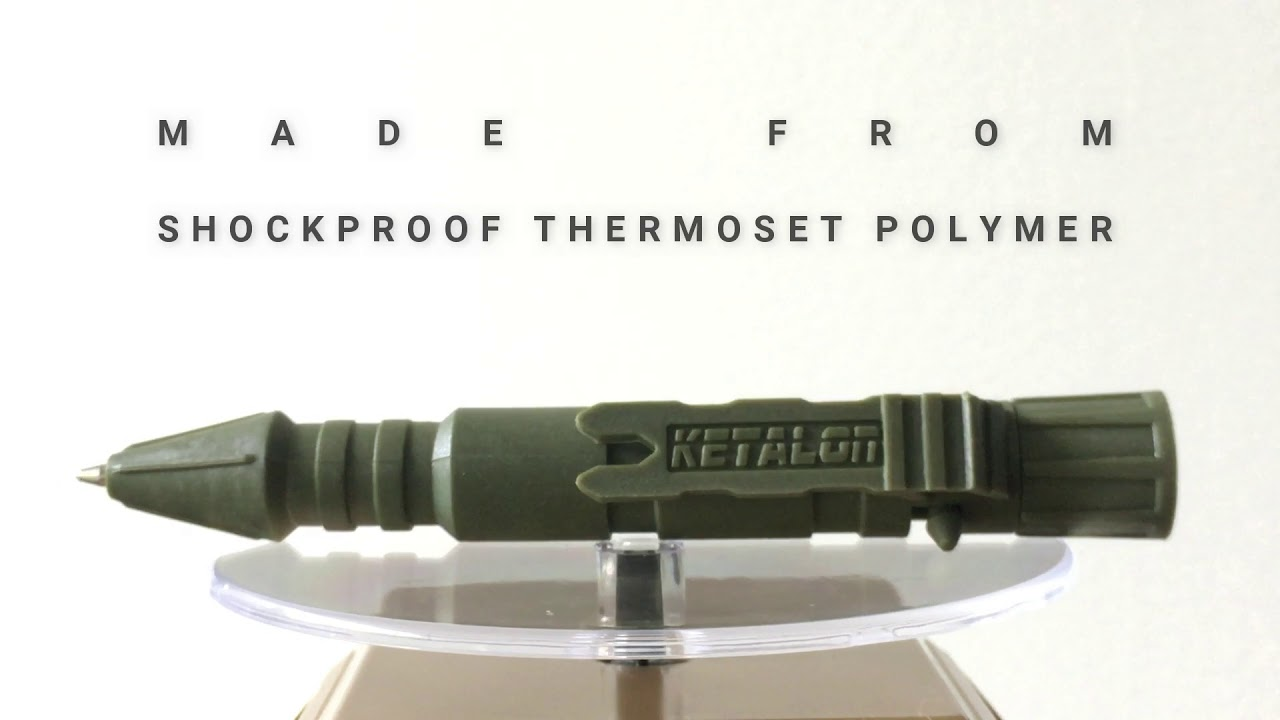 Bolt Action Tough Pen (OD Green) video thumbnail