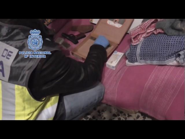 Redada de la Policía Nacional contra la pornografía infantil