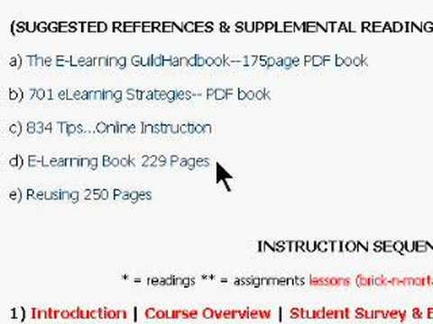 E-Learning Course -- Www.SmithLiterary.Com