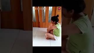Трогательное видео/ Очень преданная собака заботится о своей хозяйке