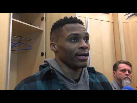Russell Westbrook forgets about Warriors 'Oh Sh*t'
