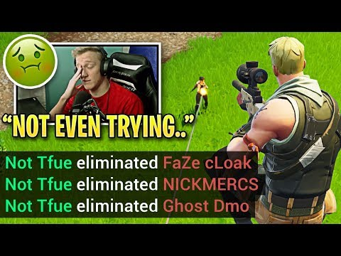 Tfue SHOCKS THE WORLD Destroying Pros While Feeling ILL! (Fall Skirmish Week 2 Highlights)