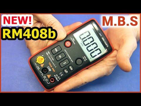 Мультиметр RM408b обзор. Новый Кнопочный от Richmeters.
