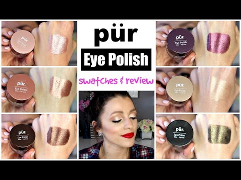 PUR Eye Polishes Swatches/Demo | OH. MY. GOSH.