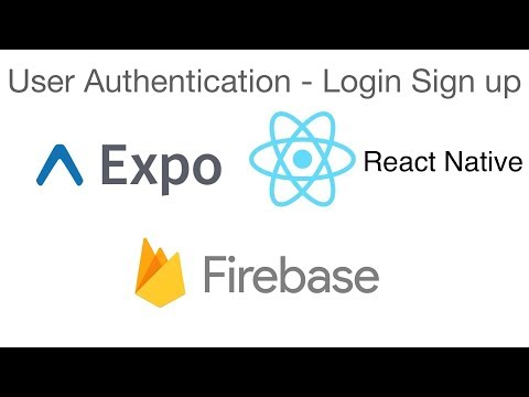 React Native - User authentication Expo and Firebase - Sign in and