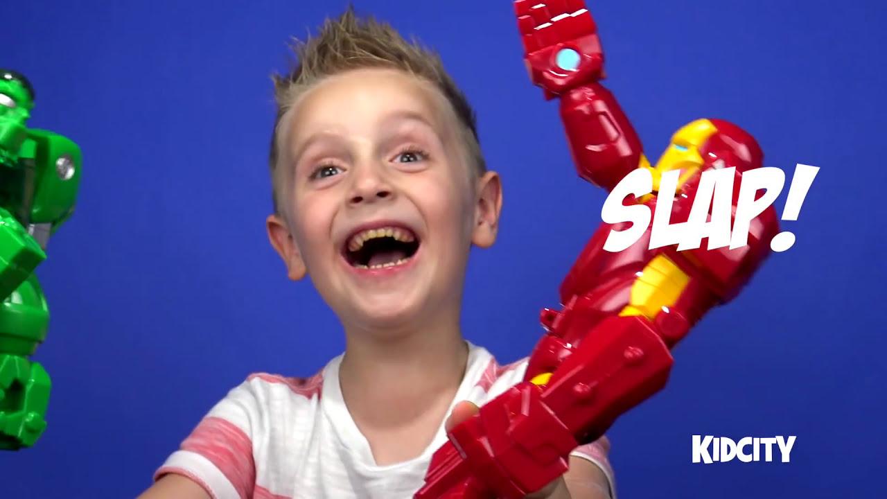 hulk vs hulkbuster iron man kinder play doh surprise egg with